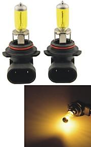 carking ™ Kobo 9006 12v 100w 3000K 550lm gult lys bil halogen forlygter (2 cps)