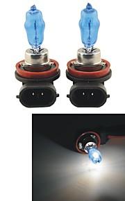 carking ™ hod h11 100w 6000k ultra lichte auto warm wit gloeilampen (dc 12v / pair)