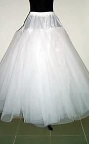 bordereaux mariée robe de demoiselle d'accessoires blancs 3 couches sans cerceau jupe