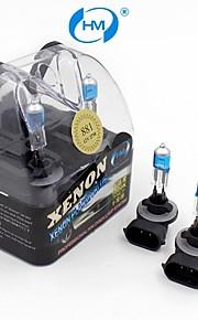 hm® xenon plasma 881 12v 27w halogeenlamp koplamp wit gloeilampen (een paar)