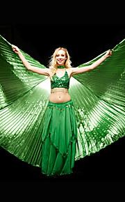 Dansaccessoires Rekwisieten Dames Prestatie Polyester Zwart / Blauw / Fuchsia / Goud / Groen / Rood / Wit Buikdans