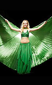 Danse tilbehør Scenerekvisitter Dame Ydeevne Polyester Sort / Blå / Rosa / Guld / Grøn / Rød / Hvid Mavedans