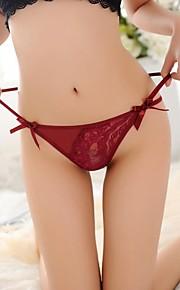 Frauen reizvolle Perspektive bunding Gürtel Spitze Schnitzen t panty