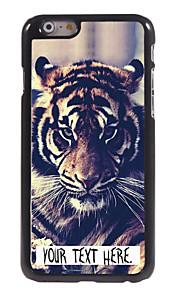"""gepersonaliseerde geval tijger ontwerp metalen behuizing voor de iPhone 6 (4.7 """")"""