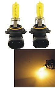carking ™ Kobo 9005 12v 100w 3000K 550lm gult lys bil halogen forlygter (2 cps)