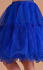 Déshabillés Robe trapèze Robe de soirée longue Longueur courte 3 Jaune Clair Bleu Ciel Rouge Bleu Rose
