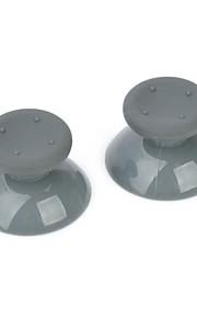 udskiftning plast analog hætte til Xbox 360 controller (grå)