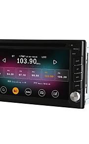 "6.2 ""2 DIN universal bil DVD-afspiller med quad core cpu ren android 4.4.2 gps 2gb ram + 16g flash"