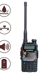 "baofeng uv5ra 1,5 ""lcd 5W 136 ~ 174MHz / 400 ~ 480MHz dual-band walkie talkie met 1-LED zaklamp (us plug)"