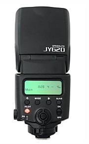 JYC - Kamera Blitz - Canon/Nikkon/Fujifilm/Samsung/Panasonic/Olympus/Pentax/Leica - med LCD