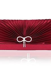 Handbag Matte Silk Evening Handbags/Clutches/Mini-Bags