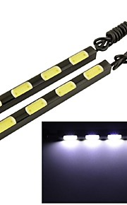 LED - Bil - Dags Kørelys/Dekorativ lampe ( Hvid , 6000K )
