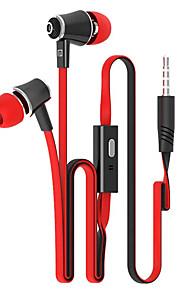 stijlvolle metalen oordopjes (oordopjes, in-ear) 3,5 mm ingang van toepassing op samsung iphone 4 / 5s / 6 / 6plus htc / rode rijst /