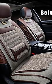 lino 6 PC fijaron todas las estaciones asiento del coche en general cubre asientos protección accesorios del coche ajuste universal