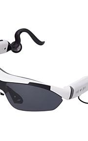 mobiltelefon universelle hovedmonteret stereo bluetooth headset mini smarte solbriller (assorterede farver)