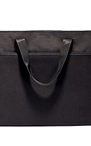 תיק שחור קוריאני נייד עמיד למים תיקיית נייר עם רוכסן