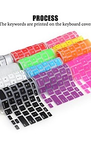 lention zacht duurzaam siliconen toetsenbord huid van de dekking voor de laptop apple macbook air macbook pro 13/15/17 (assorti kleur)