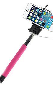 mowto Z01 håndholdte Selfie stang monopod til GoPro hero&lukker til iOS / Android mobiltelefoner-pink