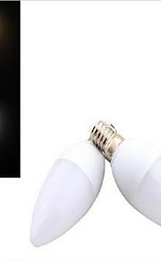1 stk. dingyao E14 3 W SMD 5730 260 LM Varm hvit/Kjølig hvit Lysestakepære AC 220-240 V