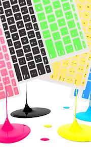 "coosbo® Franse EU azerty siliconen toetsenbord cover skin voor MacBook Air pro / retina 11 ""/ 13"" / 15 ""/ 17"""
