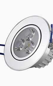 """éclairage 8a 3 """"1wx3 haute puissance conduit à puce 240lm 2800-6500k blanc chaud blanc / froid encastré Spots LED AC85-265V"""