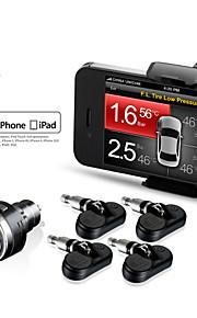 steelmate TPMS-85 professionel intern sensor system til iPhone og Android overvågning pres trådløs dæk