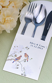 Serving Sets Wedding Cake Knife Personalized  Supplies  Bags Set of 10----Murmur