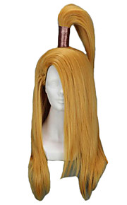 Angelaicos Men NARUTO Deidara Pre-styled Boy Long Dark Blonde Straight Halloween Party Costume Cosplay Wig