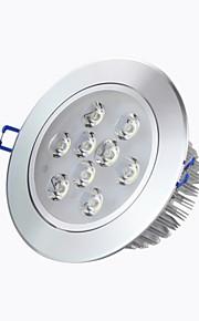 """éclairage 8a 5 """"9W haute puissance conduit 720lm 2800-6500k blanc chaud blanc / froid encastré Spots LED AC85-265V"""