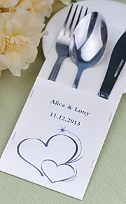 Serving Sets Wedding Cake Knife Personalized  Supplies  Bags Set of 10---- Soulmate