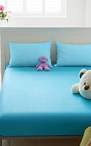 Tianyi têxtil de algodão de cor algodão flanela único tipo montado 1,8 m cama tampa de proteção colchão deslizamento clp01