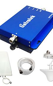 2g 3g w-cdma 2100MHz + gsm 900MHz dual-band mobiele telefoon signaal booster 900 2100 mobiele telefoon signaal repeater volledige kits
