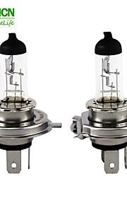 2pcs h4 xencn 24v P43T 100 / 90w 3200K serie de lámparas de automóviles faros máquinas estándar bombilla halógena clara carretera claras