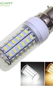 Ampoule Maïs Décorative Blanc Chaud/Blanc Froid SENCART B22 12 W 56 SMD 5730 1600-1900 LM AC 100-240/AC 110-130 V