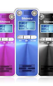 H100 digitale voice recorder 4gb u schijf voice recorder dubbele microfoon telefoon dictafoon met zwart&blauw