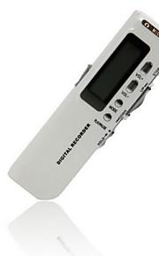 518 digital diktafon diktafon diktafon 8GB helt ny stemme aktiveret 8GB mp3-afspiller