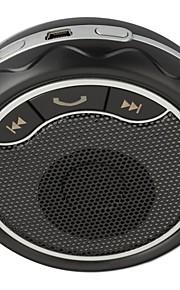 bluetooth handsfree carkit geknipt op de auto zonneklep, kan bluetooth 3.0 twee telefoons tegelijk ondersteunen