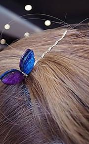 koreansk mote farget akryl kaninører hårnål