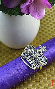 6pcs servilleteros corona de diamantes