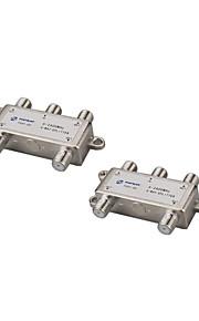 1 in 4 out splitter a 4 vie splitter satellitare formica sat mixer del segnale TV digitale satellitare -sat combinatori, diplexer VHF-UHF