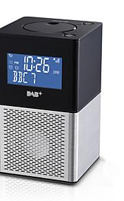 popolare Alunimun orologio digitale griglia snooze fm / DAB + / DAB radio