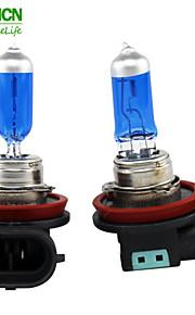 xencn h11 12v 55W 5300k blå diamant lys bil pærer erstatte opgradering fremragende kvalitet tåge halogenlampe