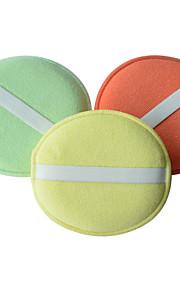 SINLAND microfibra pulir esponja almohadillas aplicadoras coche detallando pulido encerado esponja (3 pack)