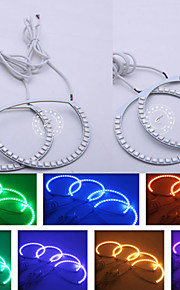 Wireless IR Remote Color Changing RGB Led Angel Eyes For M-azda 3