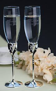 Personalized Toasting Flutes Gay Marriage ---Tuxedo(Set of 2)