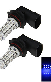 2X 18 5050 LED 9006 Bulb  Blue  Fog Light Parking Backup Lamp DC 12V HB4 P22d H302