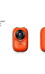 w6 geen scherm 1080p Full HD helm fiets buitensporten digitale actie camera (oranje)