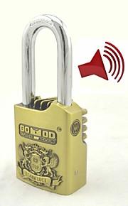 alarme cadenas garage de la maison serrures de sécurité d'alarme électronique en laiton antique