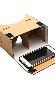 DIY google pap virtual reality 3d briller til telefon
