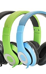 ausdom dj stereo løbet øret hovedtelefoner headset øretelefoner 3,5 mm for mp3 ipod iphone